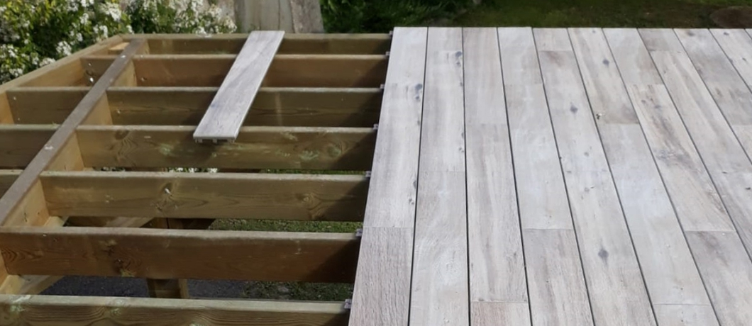 Why is DEX Deck perfect for outdoor use?